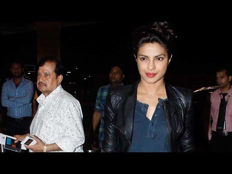 Snapped: Priyanka Chopra Receives Special Gift At
