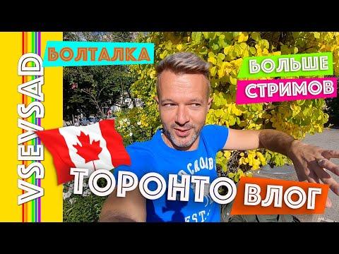 Про стримы, про Канаду, вопрос-ответ и осень в Торонто | ВЛОГ болталка
