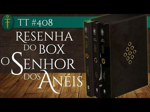 Resenha Box O Senhor dos Anéis (2019) | TT #408