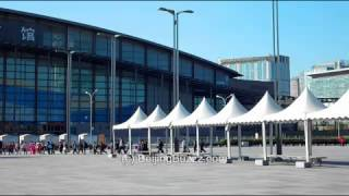 The Birds Nest Stadium and Olympic Green, BeiJing 北京