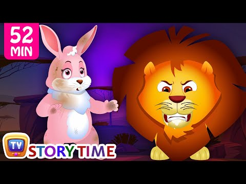 Hare and The Lion - Animal Stories for Kids - Bedtime Stories & Moral Stories for Kids - ChuChu TV