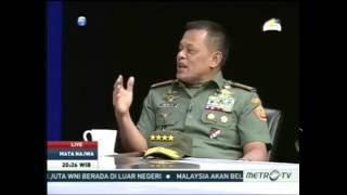 Video [ Breaking News ] JAWABAN PANGLIMA TNI membuat Najwa Sihab terdiam... MP3, 3GP, MP4, WEBM, AVI, FLV Juni 2017