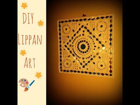 Lippan art -  kutchhi art