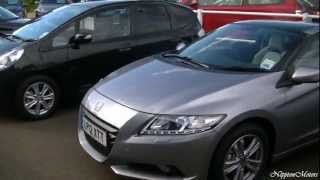 4. 2013 Honda CR Z Sport Hybrid - In Detail (720p HD)