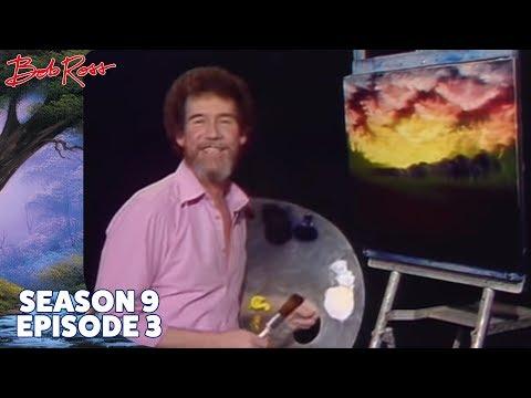 Bob Ross - Red Sunset (Season 9 Episode 3)