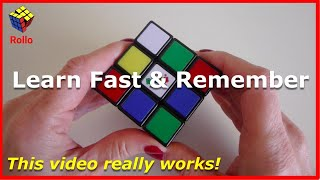 How to Solve a Rubik's Cube - Learn in 14 Minutes & Remember!