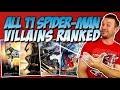 All 11 Spider-Man Movie Villains Ranked Worst to Best