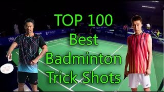 Download Video TOP 10O Best Badminton TRICK SHOTS in the world! (17 min) MP3 3GP MP4
