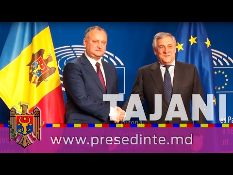 Moldovan president meets European Commission Vice President