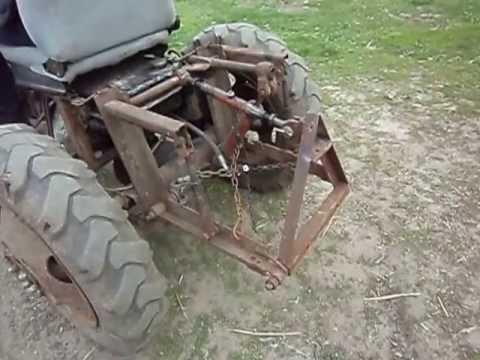 Как на самодельный трактор сделать навеску
