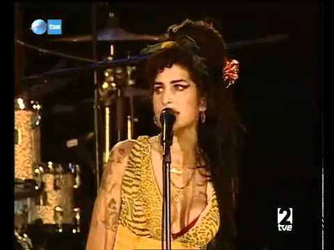 Amy Winehouse - Valerie (Live Madrid)
