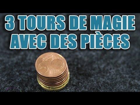 Un magicien vous révèle 3 super tours de magie avec des pièces de monnaie видео