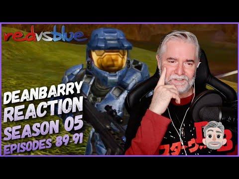 Red Vs Blue Season 5 Episodes 89-91 REACTION