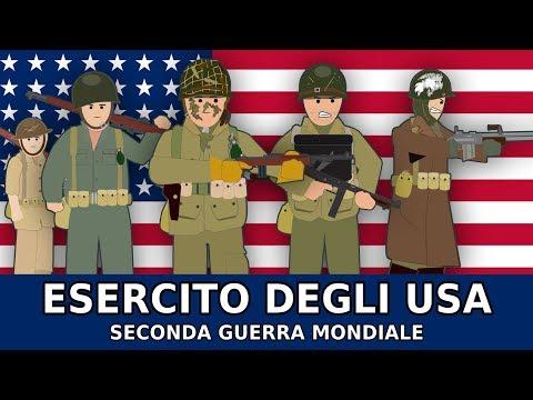 La STORIA dei SOLDATI AMERICANI nella Seconda Guerra Mondiale