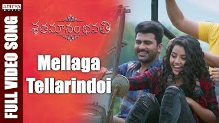 Video Mellaga Tellarindoi Full Video Song || Shatamanam Bhavati Video Songs  || Sharwanand, Anupama MP3, 3GP, MP4, WEBM, AVI, FLV Oktober 2018