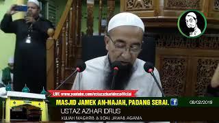 Video 🔴 08/02/2019 Kuliyyah Maghrib & Soal Jawab Ustaz Azhar Idrus MP3, 3GP, MP4, WEBM, AVI, FLV Februari 2019