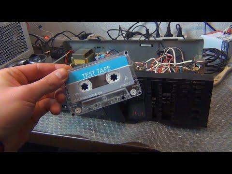 Nakamichi BX150E   Bandgeschwindigkeit beim Tapedeck kalibrieren