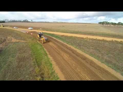 Aerial view of PolyCom Stabilising Aid application