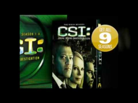 CSI Free DVD Box Set 9 Seasons