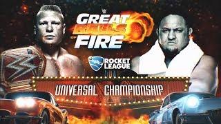 Nonton WWE Great Balls Of Fire 2017 - Brock Lesnar VS Samoa Joe (UNIVERSAL CHAMPIONSHIP) MATCH HD Film Subtitle Indonesia Streaming Movie Download