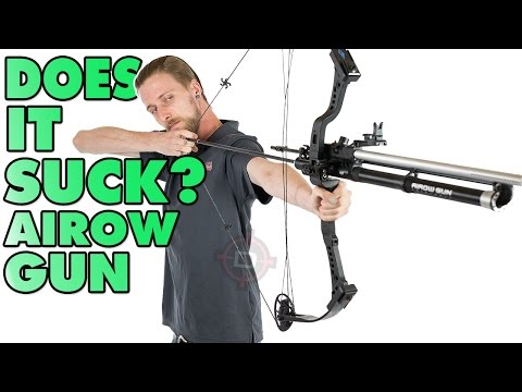 Does it Suck? - Airow Gun Paintball Bow Ep.3