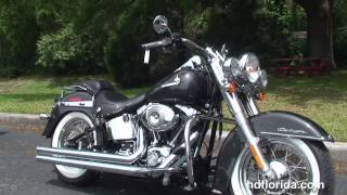 7. Used 2007 Harley Davidson Softail Deluxe Motorcycles for sale  - Tarpon Springs, FL
