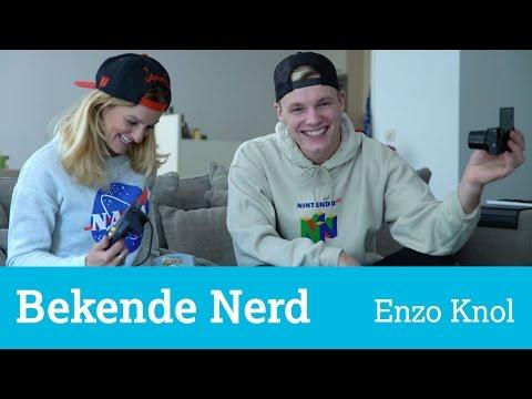 Op bezoek bij Enzo Knol thuis