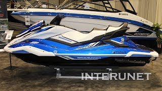 8. 2019 Yamaha FX Cruiser Blue watercraft