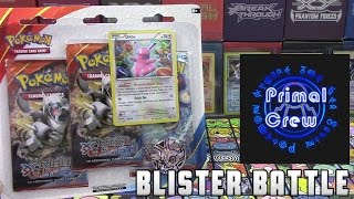 Pokémon Cards - Primal Clash 3 Pack Ditto Promo Blister Battle vs Primal Crew! by The Pokémon Evolutionaries