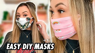 How To Make a Mask At Home: 3 Easy DIY Masks by LaurDIY