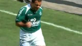 Brasileirão 2009 - Estádio Serra Dourada - Goiás 2 x 2 Fluminense - Gols do Verdão: Iarley e Romerito - Público: 10.078 - Renda: 94.165,00. Imagens: Globo.