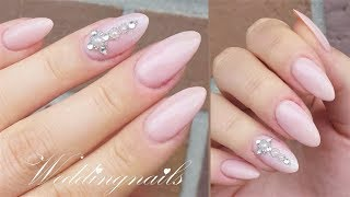 WEDDINGNAILS | Back to the nudes | Danana - YouTube