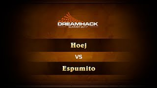hoej vs espumito, game 1