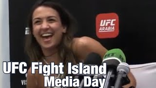Amanda Ribas: Wants to bet on herself against Paige VanZant | UFC 251 Fight Island by MMA Weekly