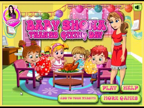 Baby Shona Thanksgiving Day – Baby Games Online For Kids