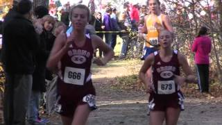 Boothbay Region High School Girls Cross Country State Race