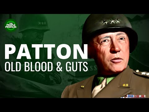 Patton - Blood and Guts & the Battle of the Bulge Biography Documentary