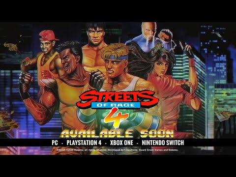 Streets of Rage 4 : Trailer pour les fonctionnalités rétro