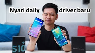 Video Samsung Galaxy S10+ Vs Huawei Mate 20 Pro! MP3, 3GP, MP4, WEBM, AVI, FLV Mei 2019