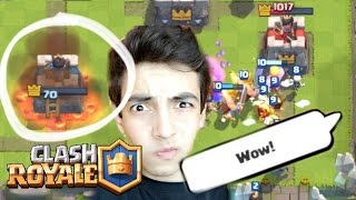 TIE in OVERTIME?! | Clash Royale | Crazy Finish!
