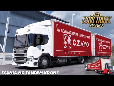 Tandem Krone for Scania NG P/G/R/S By Eugene v1.0
