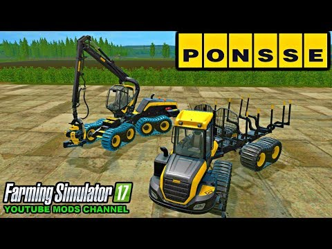 Ponsse Buffalo with autoload and loading aid v1.3