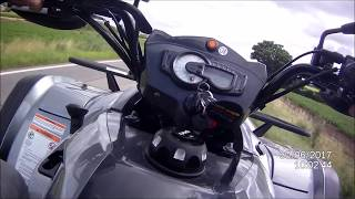 3. Kymco MXU 700i EXi EPS LoF - POV Test Drive, Top Speed, Acceleration, Sound
