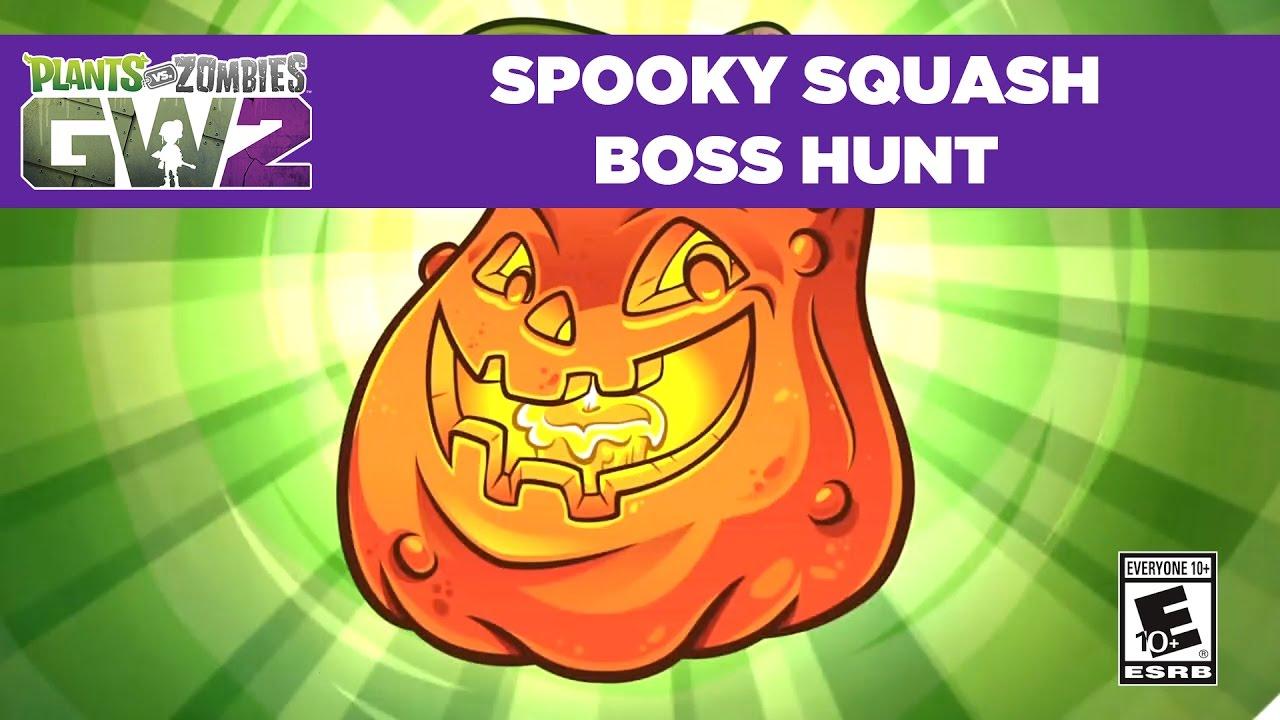 Spooky Squash Boss Hunt | Plants vs. Zombies Garden Warfare 2