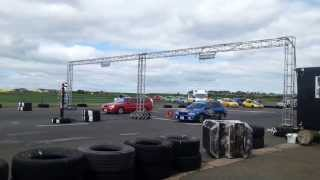 Crail Drag Nissan Stagea RS4 Vs Subaru Impreza Turbo Wagon  02/06/2013