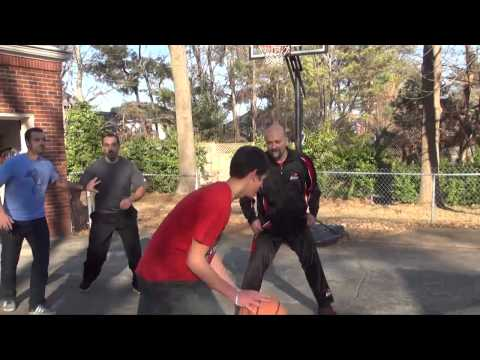 Basketball   Louis, Steve, Aaron, and Jeremy highlights 720p 2013