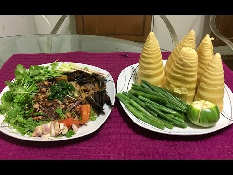 How to make padaek song keuang nor mai ha Ka saad ( LAO FOOD ) HOME MADE BY KAYSONE