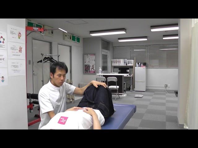 【施術動画】産後の腰痛 2 腰椎を矯正する