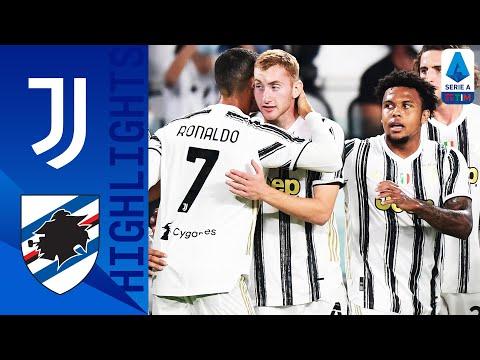 Juventus 3-0 Sampdoria   Kulusevski Scores on Debut as Juve Open with a Win   Serie A TIM