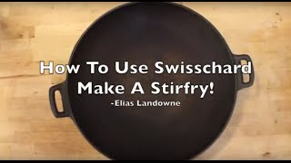 This video is about Swisschard (Stirfry)